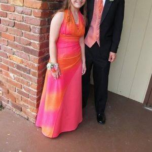 Jump Apparel Prom Dress, EUC
